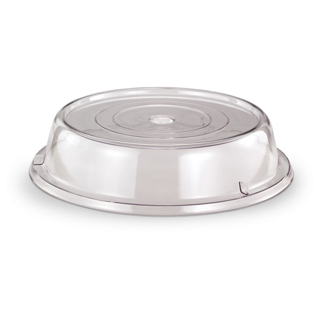 "Vollrath 978-13 Safe-Stack Plate Cover - Fits 9-5/8-9-7/8"" Clear Poly"