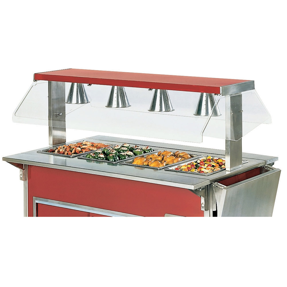 "Vollrath 9860206 88"" Breath Guard for Access Buffet Unit"