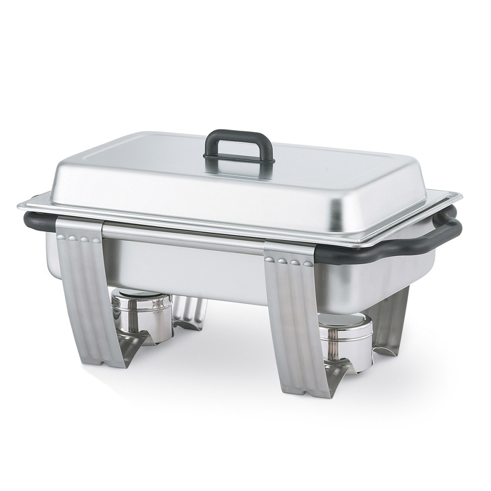 Vollrath 99860 Full Size Chafer w/ Lift-off Lid & Chafing Fuel Heat