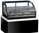 "Vollrath 40846 48"" Heated Display Cabinet - Glass Front, 2 Shelves 110v"