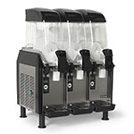 Vollrath CBE167-37 Frozen Beverage Dispenser w/ 3-Bowl & 3.2-gal Capacity, Black, 115v