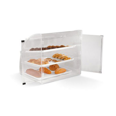 "Vollrath EMBC-1 Curved-Front Pastry Display Case -  (3)14x18"" Trays"