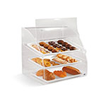 "Vollrath EMBC-2 Curved-Front Pastry Display Case -  (3)14x18"" Trays"