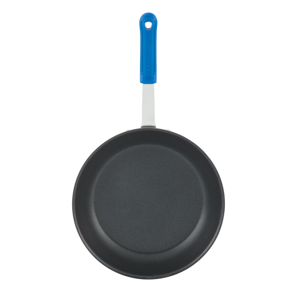 "Vollrath EZ4007 7"" Non-Stick Aluminum Frying Pan w/ Solid Silicone Handle"