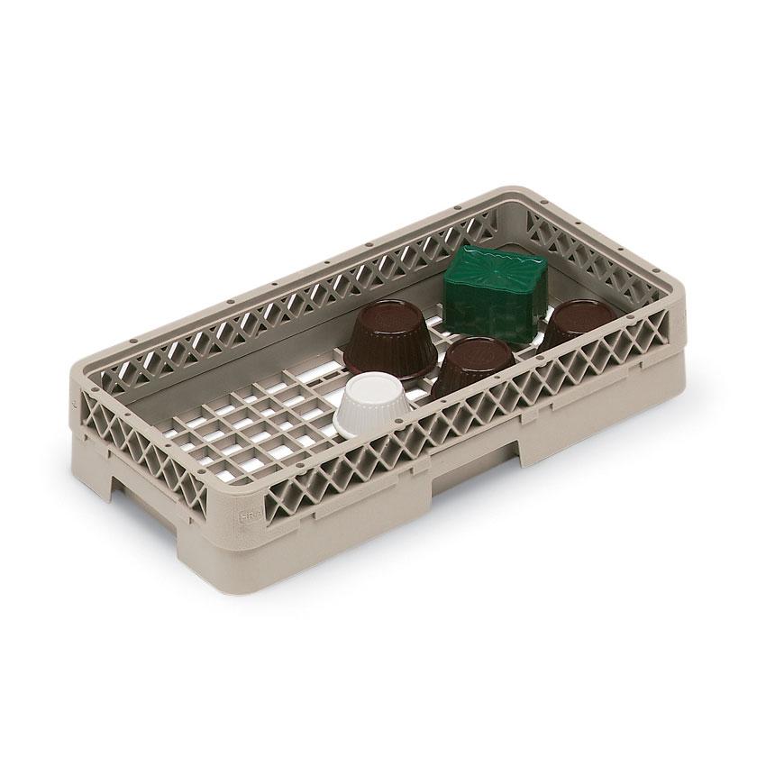 Vollrath HR-1AA Dishwasher Open-Rack - Half-Size, (2)Extenders, Plastic, Beige