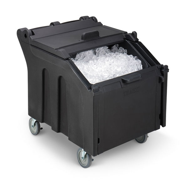 "Vollrath ICE140-06 140-lb Ice Caddy - Sliding, Slant Top, 30.31"" H"