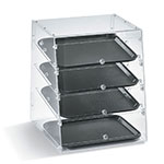 "Vollrath KDC1418-4F-06 Slant-Front Countertop Pastry Display Case - (4)14x18"" Trays"