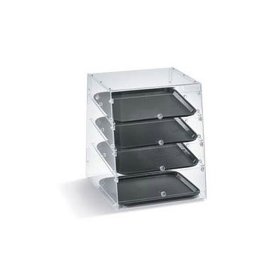 "Vollrath KDC1418-4R-06 Slant-Front Countertop Pastry Display Case - (4)14x18"" Trays"