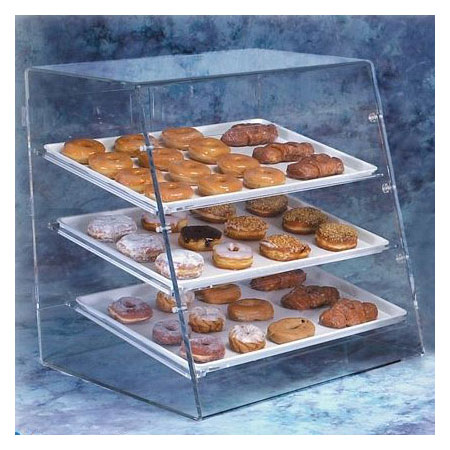 Vollrath LBC Angled-Front Bakery Display Case - Front/Rea...