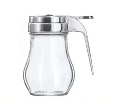 Vollrath 206 6-oz Syrup Server - Chrome Cap, Clear Glass