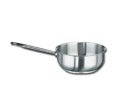 "Vollrath 3150 7"" Induction Saute Pan - Curved, Aluminum Bottom, 18-ga Stainless"