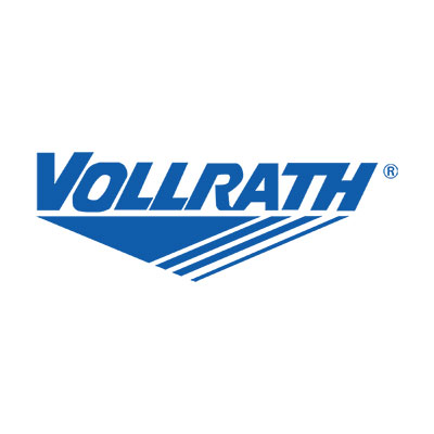 Vollrath R39733 3-Pan Cold Cafeteria Unit - Breath Guard, Solid Base, Granite 120v