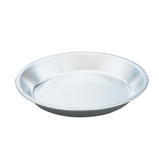 "Vollrath N5844 9-3/4"" Pie Pan - Natural-Finish Aluminum"