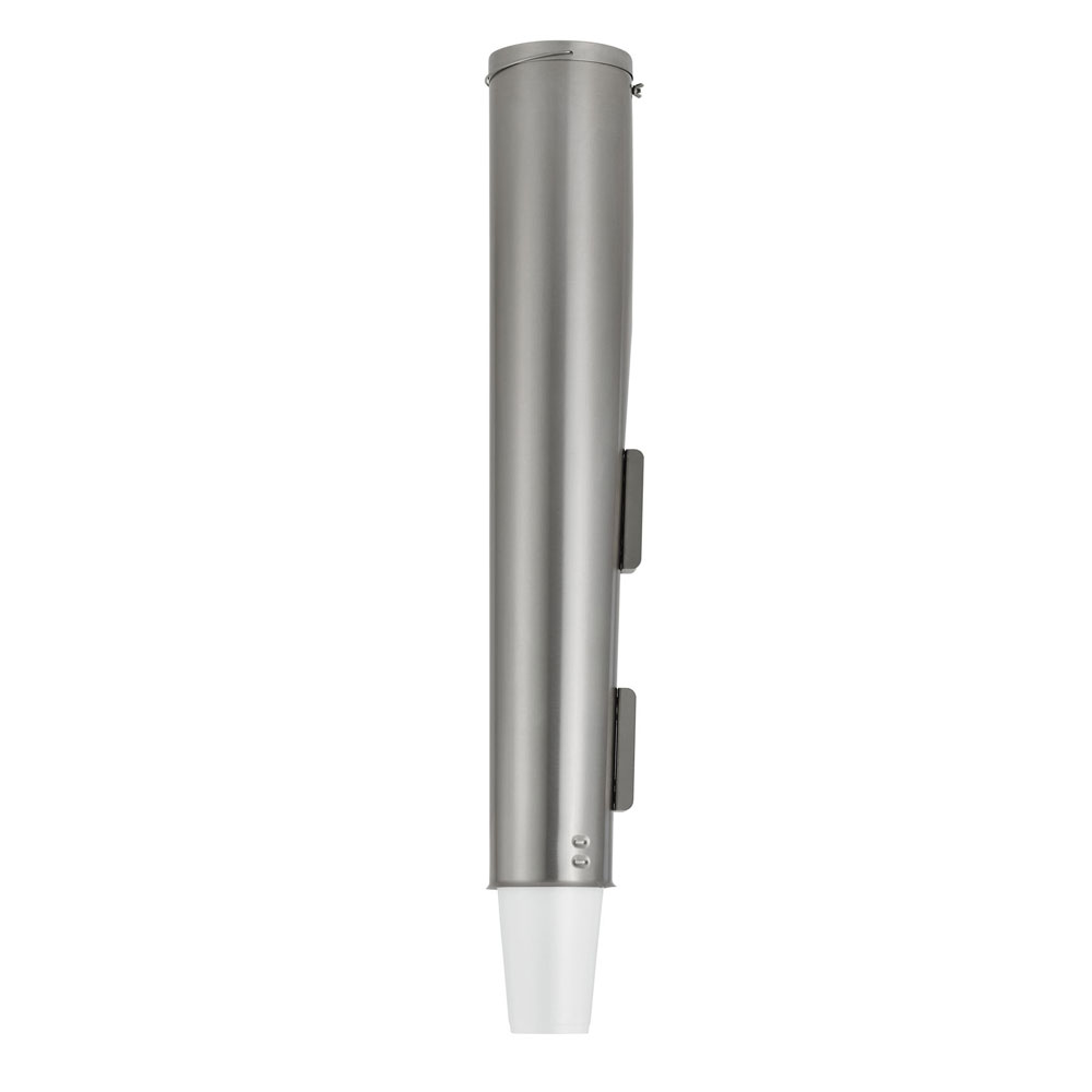 Vollrath PLC-2 Pull-Type Cup Dispenser for 6-10 oz Cups, Stainless