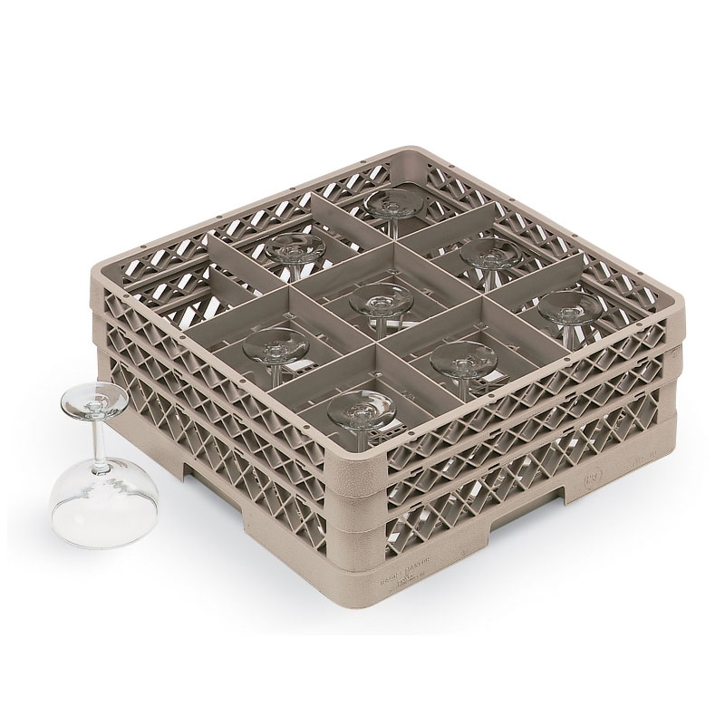 Vollrath TR-10FFFFFF Full-Size Dishwasher Stemware Rack, ...