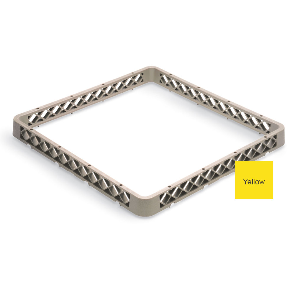 Vollrath TR-A-08 Full-Size Dishwasher Rack Extender - Yellow