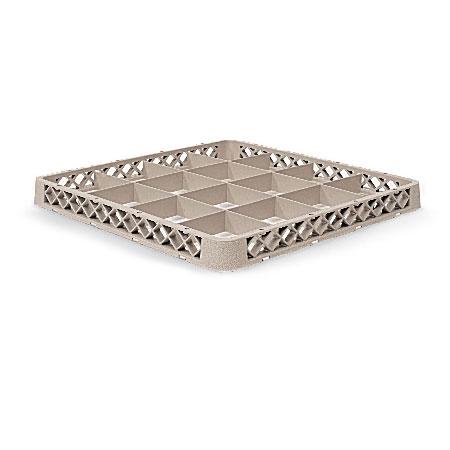 Vollrath TR-D Full-Size Dishwasher Rack Extender - 16-Compartment, Beige