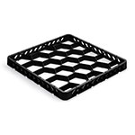 Vollrath TR-G-06 Full-Size Dishwasher Rack Extender - 20-Compartment, Black