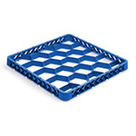 Vollrath TR-G-44 Full-Size Dishwasher Rack Extender - 20-Compartment, Royal Blue