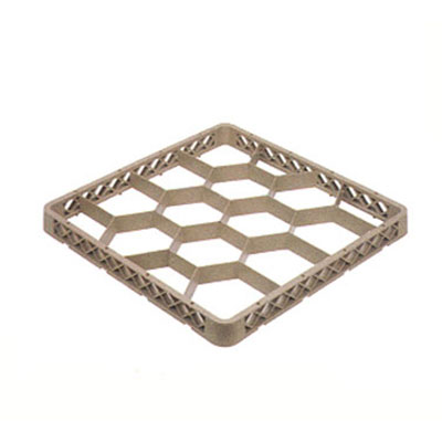 Vollrath TR-J Full-Size Dishwasher Rack Extender - 12-Compartment, Beige