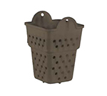 Vollrath 1373-01 Food Dipper Basket, 6.75-in High, Brown