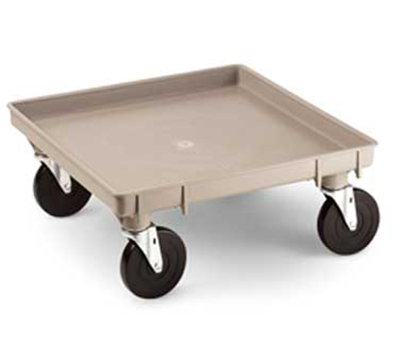 "Vollrath 1697 Dolly Base - Single Stack, 21x21"", Beige"