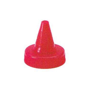 Vollrath 2814-13 Squeeze Dispenser Closeable Spout Cap - Clear