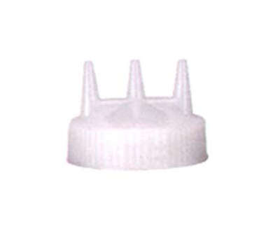 Vollrath 3300-13 Tri-Tip Replacement Cap - For 8,12,16,24,32-oz, Wide Mouth, Clear
