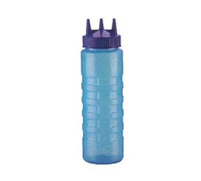 Vollrath 3324C-44 24-oz Squeeze Dispenser - Wide Mouth, Blue Cap, Blue