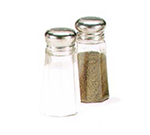 Vollrath 402 2-oz Salt/Pepper Shaker - Stainless Mushroom Cap, Poly