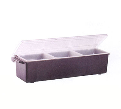 Vollrath 4742-01 3-qt Condiment Dispenser Standard Lid - Plastic, Brown