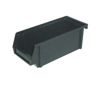 "Vollrath 4806-06 Self-Serve System Bin - Single,  11-1/4x4-1/4x5"" Plastic Black"