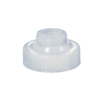 Vollrath 4901-13 Bottle Opening Converter Cap - Converts Wide Mouth to Standard, Clear