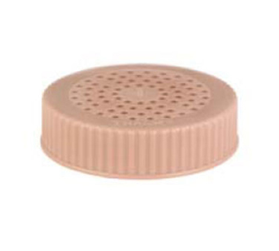 Vollrath 4906-32 Shaker Dredge Lid - Medium, Plastic Beige