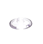 Vollrath 527T Condiment Lid Only, Glass, Clear