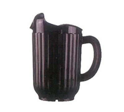 Vollrath 6010-06 60-oz Three-Lipped Pitcher - Black Poly