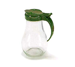 Vollrath 614-191 14-oz Syrup Server - Vista Green Plastic Cap, Glass Jar