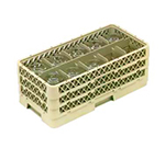 Vollrath HR-1C1CC Dishwasher Rack - Half-Size, 10-Compartment, (3)Compartment Extenders, Beige
