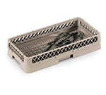 Vollrath HR2A Dishwasher Flatware Rack - Half-Size, Open, Beige