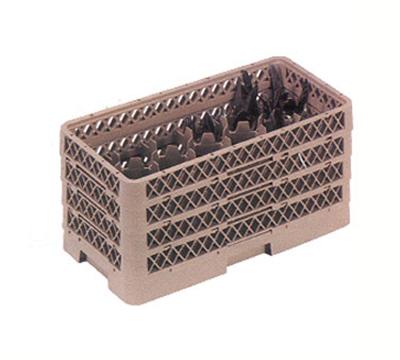 Vollrath HR-2D1DDA Dishwasher Flatware Rack - Half-Size, 10-Compartment, Beige
