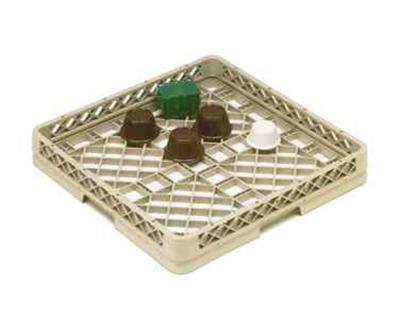 Vollrath TR-13A Full-Size Dishwasher Rack - Low-Profile, Open, Beige