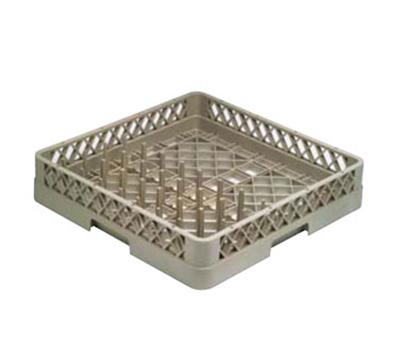 Vollrath TR-15 Full-Size Dishwasher Combo Rack - 1/2-Open, 1/2-Peg Rack, Beige