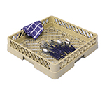 Vollrath TR-2-44 Full-Size Dishwasher Flatware Rack - Open, Royal Blue