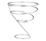 "Vollrath WC-6007 7"" Wire Cone Basket - Chrome"
