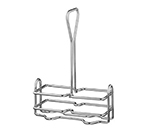 "Vollrath WR-1020 Wire Cruet Rack - 5-3/4x2-5/8x7-1/4"" Chrome"