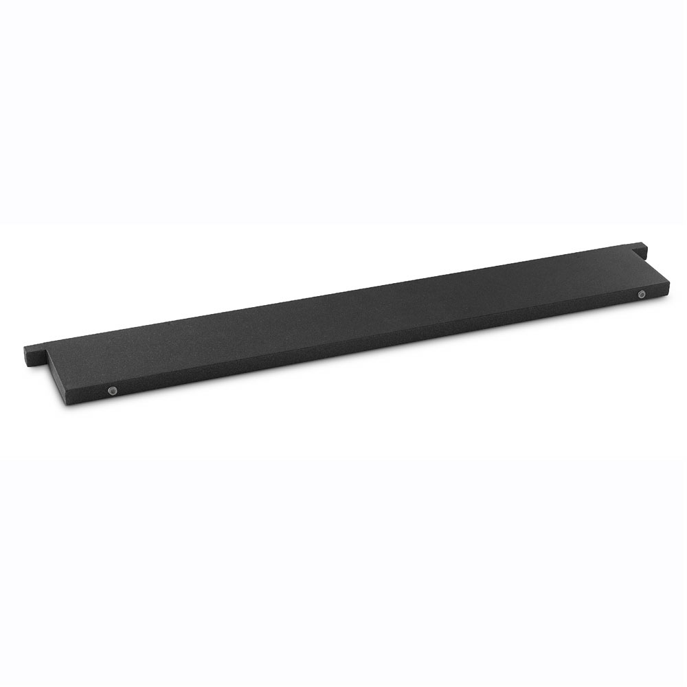 "Vollrath V904980 Rectangular Serving Board - 31.5"" x 4.87"", Wood, Black"