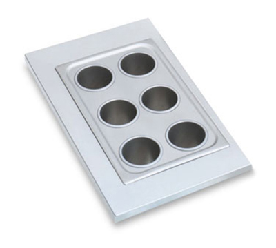 Vollrath 19195 Adapter Plate with Six Holes, for 78710 Bain Marie Pots