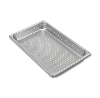 Vollrath 30013 Full-Size Steam Pan V - Perforated, Stainless
