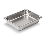 Vollrath 30112 Two-Third Size Steam Pan, Stainless