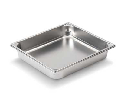 Vollrath 30222 Half-Size Steam Pan, Stainless